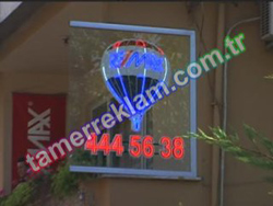 Remax Loft Led Tabela Re/max Balon Hareketli Tabela