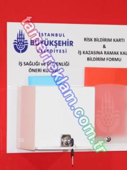 İstanbul Büyükşehir Belediyesi İSG Kutusu