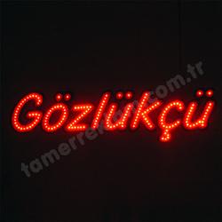 Gözlükçü LED tabela  ( 865 x 225 mm )