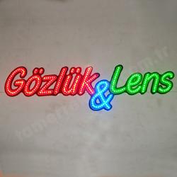 Gözlük & Lens Led Tabela