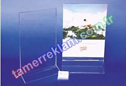 A4 Pleksiglass Broşürlük Çift yüz