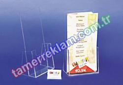 21x11cm Pleksiglass Broşürlük