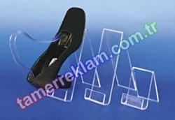 Pleksiglass Ayakkabılık Dik Taban