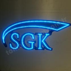 SGK Sosyal Güvenlik Kurumu Eczane Kurumlar LED Tabela