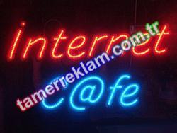 İnternet Cafe Led Tabela