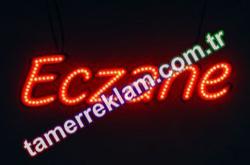 LED Eczane Tabelası (900 x 234 mm) Kırmızı